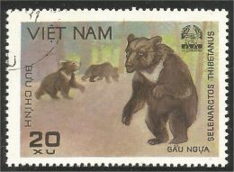 930 Vietnam Ours Orso Urso Bear Bare (VIE-141) - Beren