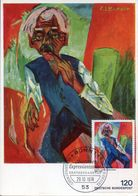 32743 Germany, Maximum 1974 Painting Of  Erns Ludwig Kirchner, Expressionismus - Arts