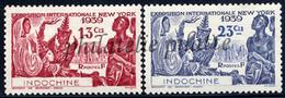 -Indochine 203/04** - Indochina (1889-1945)