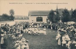 H108 - 01 - DAGNEUX - Ain - Visite De L'Avant-Garde De Villefranche-sur-Saône - Andere Gemeenten