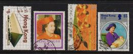 Hongkong , Selection High Value, 44 Euro, But Stamps Are Damaged - Collections, Lots & Séries