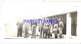 92266 PARAGUAY HELP POLITICA PRESIDENTE MORINIGO & MILITARY SOLDIER BREAK PHOTO NO POSTAL POSTCARD - Paraguay