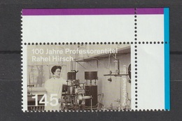 Deutschland 2013: 100. Jahre Professorentitel Rachel Hirsch. MiNr.: 3038 - BRD
