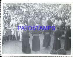 92268 PARAGUAY HELP COSTUMES MILITARY & POLITICA PRESIDENTE MORINIGO PHOTO NO POSTAL POSTCARD - Paraguay