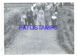 92269 PARAGUAY HELP POLITICA PRESIDENTE MORINIGO & RELIGIOUS PHOTO NO POSTAL POSTCARD - Paraguay