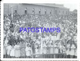 92271 PARAGUAY HELP COSTUMES PARADE PHOTO NO POSTAL POSTCARD - Paraguay
