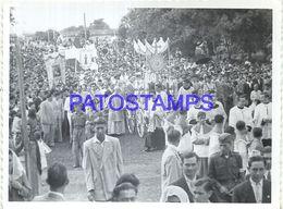92272 PARAGUAY HELP COSTUMES PARADE RELIGIOUS PHOTO NO POSTAL POSTCARD - Paraguay