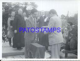 92273 PARAGUAY HELP POLITICA PRESIDENTE MORINIGO & MILITARY DISCURSO PHOTO NO POSTAL POSTCARD - Paraguay
