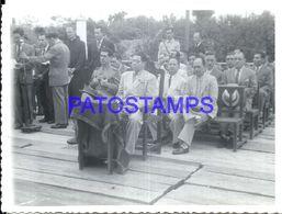 92274 PARAGUAY HELP POLITICA PRESIDENTE MORINIGO & MILITARY PHOTO NO POSTAL POSTCARD - Paraguay