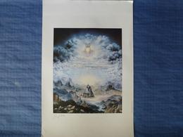 Lithographie De Kazimierz Dziga - 62 X 40 Cm - Lithographies
