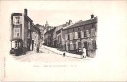 FR54 BRIEY - Précurseur - Rue De La Lombardie - Animée - Belle - Briey