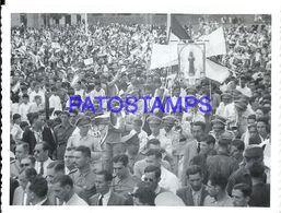 92277 PARAGUAY HELP POLITICA PROCESSION PHOTO NO POSTAL POSTCARD - Paraguay