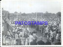 92281 PARAGUAY HELP COSTUMES POLITICA MILITARY PROCESSION PHOTO NO POSTAL POSTCARD - Paraguay