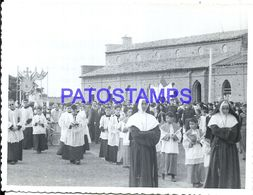 92282 PARAGUAY HELP COSTUMES PROCESSION RELIGIOUS PHOTO NO POSTAL POSTCARD - Paraguay