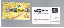 ESTONIA -  EESTI TELEFON  -   1995 THE FIRST CHIPCARD                                                   USED - RIF.10547 - Estonia