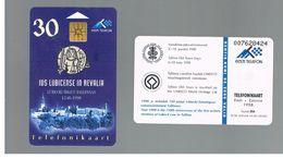 ESTONIA -  EESTI TELEFON  -   1998  750 YEARS OF LUBECK LAW - USED - RIF.10558 - Estonia