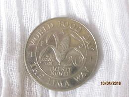 Zambia: 20 Ngwee - World Food Day 1981 - Zambie