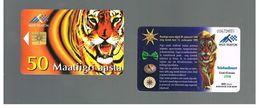 ESTONIA -  EESTI TELEFON  -   1998  CHINA HOROSCOPE: YEAR OF THE TIGER - USED - RIF.10560 - Estonia