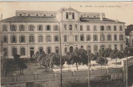 CPA - 'ORAN - LE LYCÉE DE JEUNES FILLES - 68 - Oran