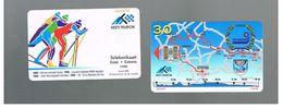 ESTONIA -  EESTI TELEFON  -   1998  TARTU SKI MARATHON                        - USED - RIF.10562 - Estonia