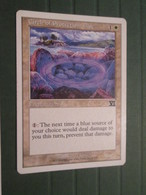 CARTE DE JEU MAGIC THE GATHERING (en Anglais)  BLUE CIRCLE OF PROTECTION - Magic L'Assemblée