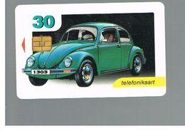 ESTONIA -  EESTI TELEFON  -   1999 CARS: VOLKSWAGEN BEETLE 1303                     - USED - RIF.10565 - Estonia