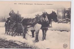 CPA LE PUY 43 UN COURRIER EN TRAINEAU ATTELAGE CHEVAL - Le Puy En Velay