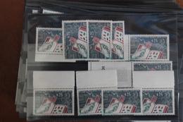 1963      EXPOSITION  PHILATEC  X  10  EXEMPLAIRES       FRAICHEUR  POSTALE - Unused Stamps