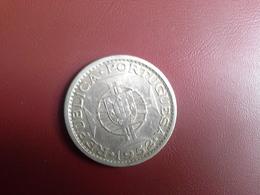 Portugal Colonia Guine    20 Escudos 1952     Silver , Prata Ag.720  10gr. - Portugal