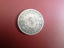 Portugal Colonia Guine   10 Escudos 1952     Silver , Prata Ag.720  5gr. - Portugal
