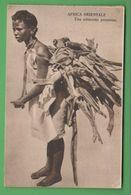 Africa Afrika Eritrea Costumi AOI Piccola Portatrice Di Legna Folklore Costumi - Costumi