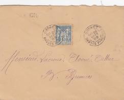 LETTRE.  26 SEPT 99. ORTHEZ BASSES PYRENEES. OR - Marcophilie (Lettres)
