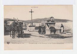 Combronde. Le Tonneau Et La Croix à Bonnefond. Avec Attelage De Chevaux. (2663) - Combronde