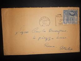 Malte , Lettre De Valletta 1956 Pour Roma - Malta