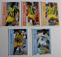 5 Carte PANINI 1994 FCNA Nantes Makelélé Ouedec Loko Karembeu Vulic - Panini