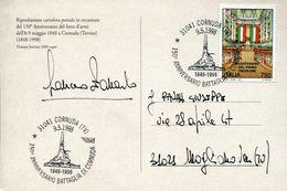 32791 Italia, Special Postmark Cornuda Treviso 1998 Battaglia Di Cornuda 1849, Battle Of Cornuda - Storia