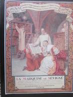 BOUTIQUE DE LA MARQUISE DE SÉVIGNÉ 11bd MADELEINE PARIS-CHOCOLAT FRIANDISES-COFFRETS ORNÉS-ANCIENNE AFFICHE PUBLICITAIRE - Paperboard Signs