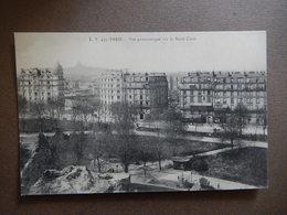 75 - CPA - RARE - PARIS - VUE PANORAMIQUE SUR LE SACRE COEUR - R14451 - Sacré Coeur