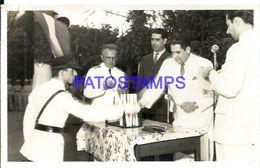 92304 PARAGUAY HELP POLITICA PRESIDENTE MORINIGO & MILITARY POSTAL POSTCARD - Paraguay