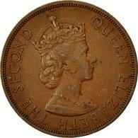 Monnaie, Etats Des Caraibes Orientales, Elizabeth II, 2 Cents, 1958, TTB - East Caribbean States