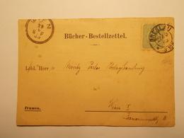 Marcophilie  Cachet Lettre Obliteration Timbres - ALLEMAGNE - Brelau - 1885 (1965) - Germania