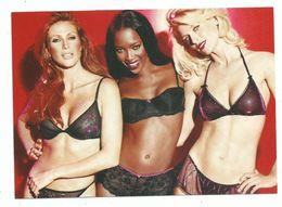 CPM Publicité Mode Femme Magasin H &M Lingerie 3 Pin Up En Soutien Gorge - Pubblicitari