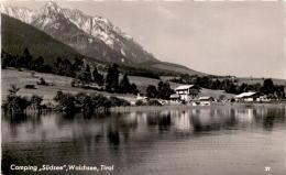 "Camping ""Südsee"", Walchsee, Tirol (21) * 19. 6. 1961 - Österreich"