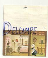Etiquette Double Cadeaux. Chambre, Petite Fille, Chapeau Père Noël 4,5/8 Cm - Cartes Cadeaux