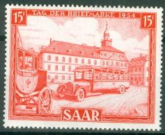 Saarland 349 ** Postfrisch - 1947-56 Protectorate