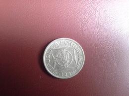 Portugal Colonia  Moçambique   2.5 Escudos 1950    Silver , Prata Ag.650    3.5gr. - Portugal