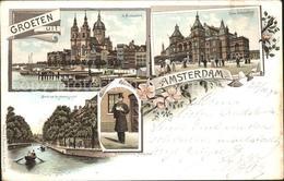 31738177 Amsterdam Niederlande St. Nicolaaskerk Schouwburg Heerengracht Amsterda - Netherlands