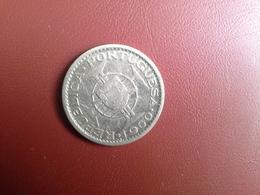 Portugal Colonia  Moçambique   10 Escudos 1960    Silver , Prata Ag.720    5gr. - Portugal