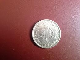Portugal Colonia  Moçambique   10 Escudos 1966    Silver , Prata Ag.720    5gr. - Portugal