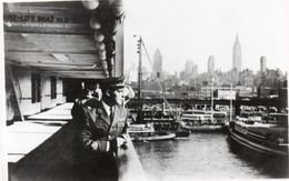 FOTO ORIGINALE-NEW YORK NAVE VULCANIN- ANNI-55 - Barche